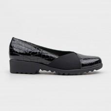 Балетки кожаные черные 22402-82-BLK