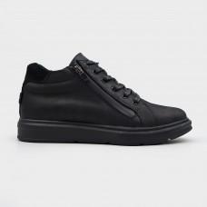 Ботинки черные кожаные 35122-BLK