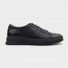 Кроссовки черные кожаные CA1315-BLK