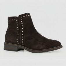 Ботинки коричневые замшевые B756114-BRO