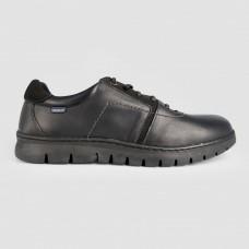 Кроссовки черные кожаные 5310-BLK