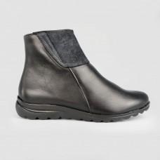 Ботинки черные кожаные 52005-BLK