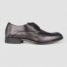 Туфли черные кожаные 1200-BLK