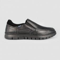 Мокасины черные кожаные 5317-BLK