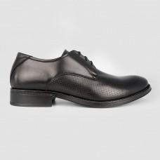 Туфли черные кожаные 2751 ESTRELLA-BLK