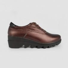 Туфли коричневые кожаные 52302-BRO
