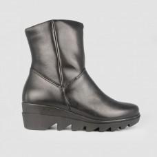 Ботинки черные кожаные 52307-BLK