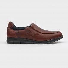 Мокасины коричневые кожаные 4223-BRO