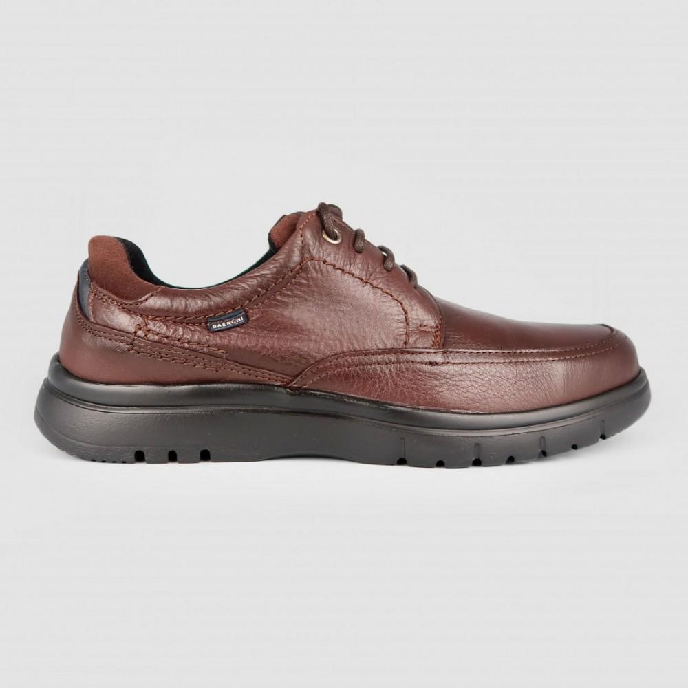Туфли коричневые кожаные 5051-BRO