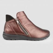 Ботинки коричневые кожаные 52004-BRO