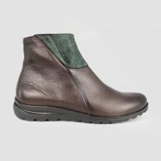 Ботинки зеленые кожаные 52005-GRE