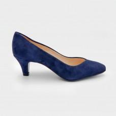 Туфли синие замшевые A43141-NAV