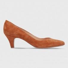 Туфли красные замшевые A43141-RED