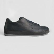 Кроссовки синие кожаные 35015-NAV