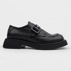 Черные кожаные туфли 0403-21105-BLK