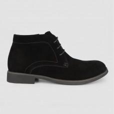 Ботинки черные замшевые LT1244-BLK