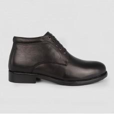 Ботинки черные кожаные LT1287-BLK