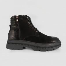 Ботинки черные кожаные CA1345-BLK