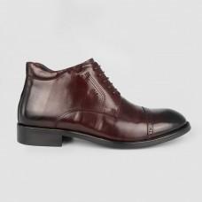 Ботинки коричневые кожаные YR1135-BRO