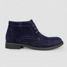 Ботинки синие замшевые LT1244-NAV