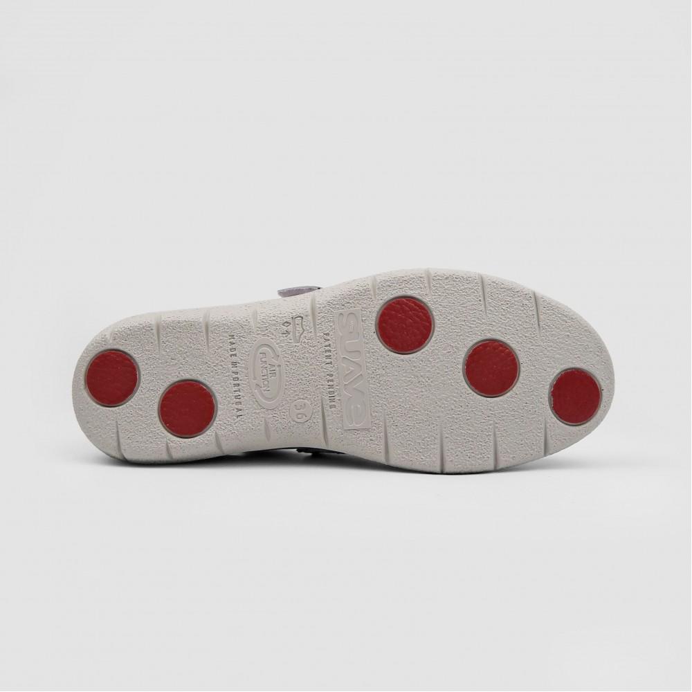Мокасины бежевые кожаные 6618-NUD