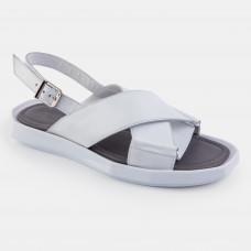 Белые кожаные босоножки 21121-WHI