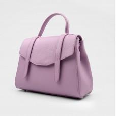 Сумка розовая кожаная 02954-ROS