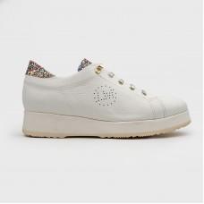 Белые кожаные кроссовки LM014-WHI
