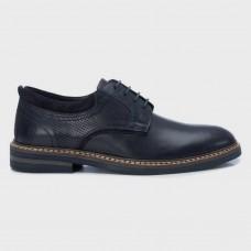 Туфли синие кожаные 67196-NAV