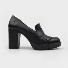Туфли черные кожаные 66577-BLK